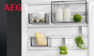 Kühlschrank Kombination : Aeg kühlschrank mit customflex elektrogeräte im raum marl